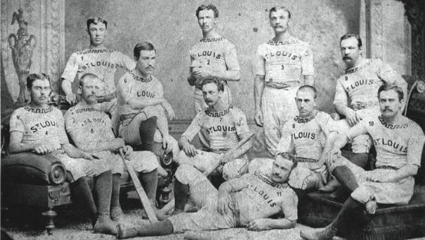 1876 St. Louis Brown Stockings