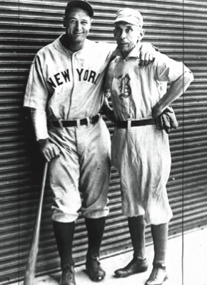 On June 3, 1932, Lou Gehrig matched Bobby Lowe's feat of four home home runs in a single game. (LEGENDARY AUCTIONS)
