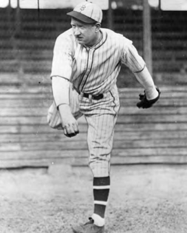 In 1924, his 262 Ks accounted for nearly eight percent of all National League strikeouts. Next in the league came his teammate Burleigh Grimes with 135.