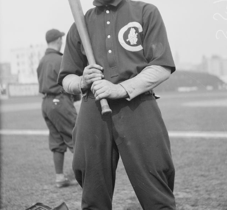 Chicago Cubs infielder was thought for many years to have won the 1912 NL Triple Crown. (LIBRARY OF CONGRESS)