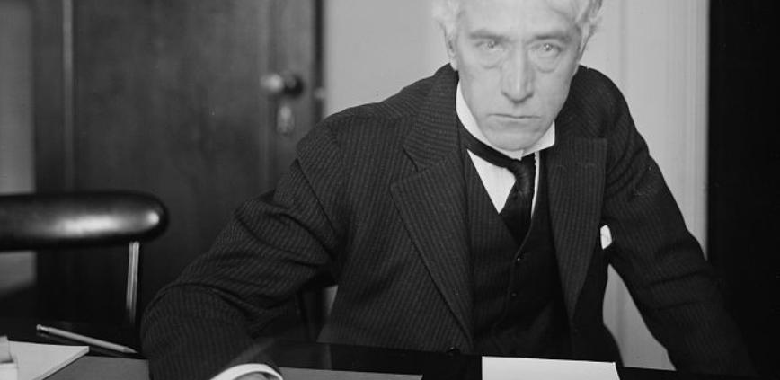 Judge Kenesaw Mountain Landis, circa 1915 (LIBRARY OF CONGRESS)