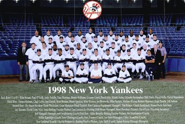 1998 New York Yankees (NATIONAL BASEBALL HALL OF FAME LIBRARY)