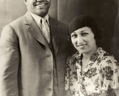 Abe and Effa Manley (NOIRTECH, INC.)