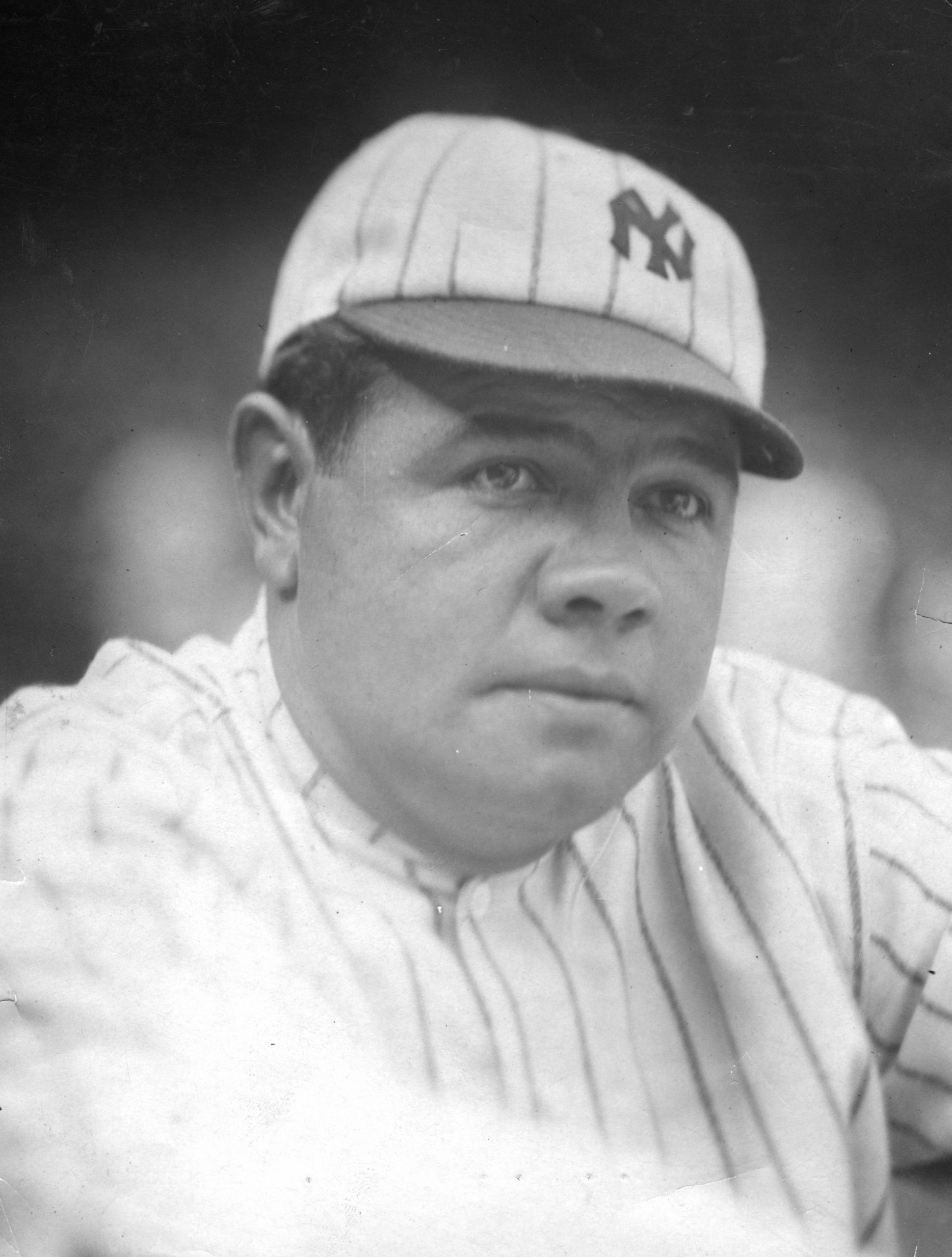 Babe Ruth, circa 1921 (NATIONAL BASEBALL HALL OF FAME LIBRARY)