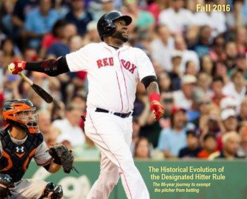Baseball Research Journal, Fall 2016