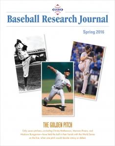 Baseball Research Journal, Spring 2016