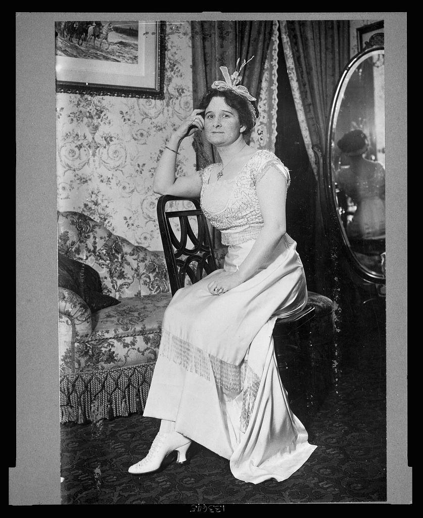 Helene Hathaway Britton, circa 1911 (LIBRARY OF CONGRESS)