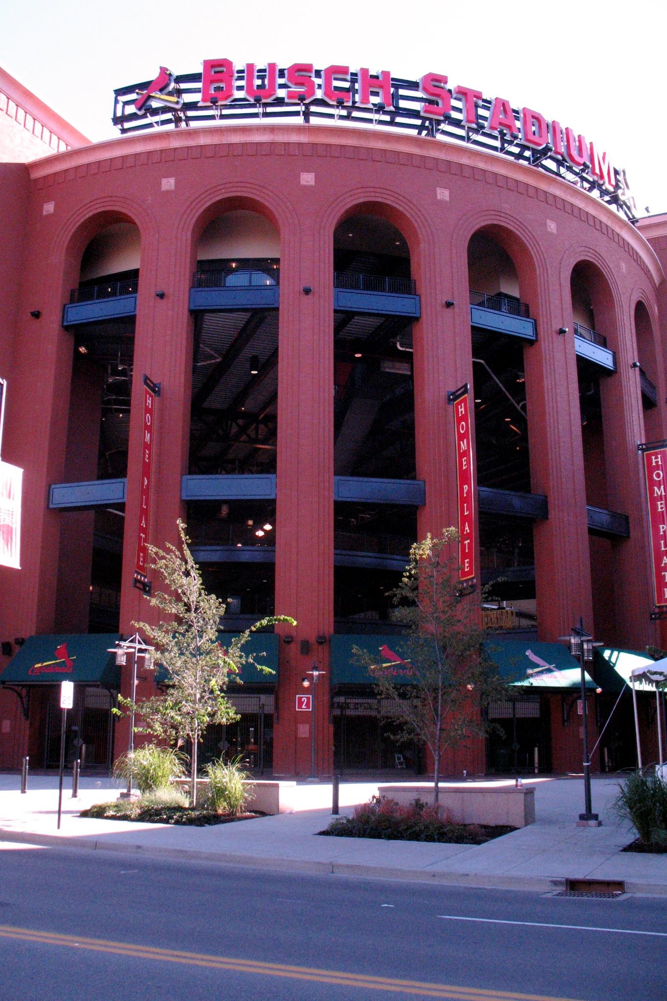Busch Stadium III in 2007 (COURTESY OF STEVE AMES)