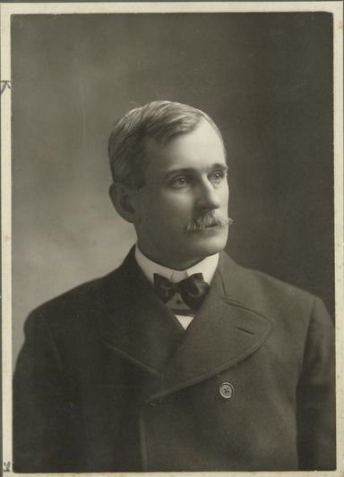 James A. Hart succeeded Albert Spalding as the Chicago Cubs president in 1891 (A.G. SPALDING COLLECTION)