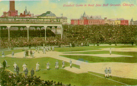 The second iteration of West Side Grounds opened in 1893 and was the Chicago Cubs' home before Wrigley Field through the 1915 season. (DOUG PAPPAS)