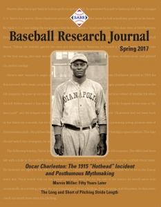 Baseball Research Journal, Spring 2017