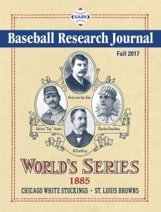 Baseball Research Journal, Fall 2017
