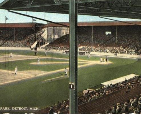 Navin Field, 1912 (NATIONAL BASEBALL HALL OF FAME LIBRARY)