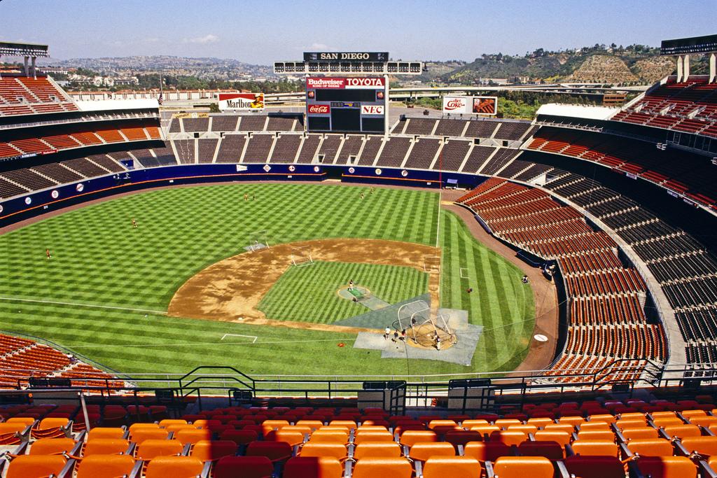 Jack Murphy Stadium (SAN DIEGO PADRES)