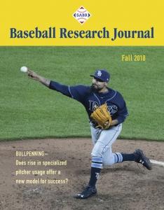 Baseball Research Journal, Fall 2018