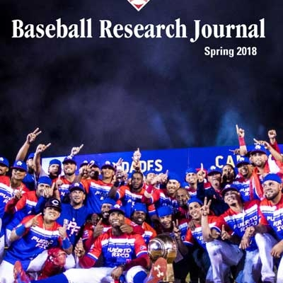 Baseball Research Journal, Spring 2018