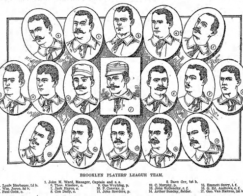 1890 Brooklyn Players League team: Ward's Wonders