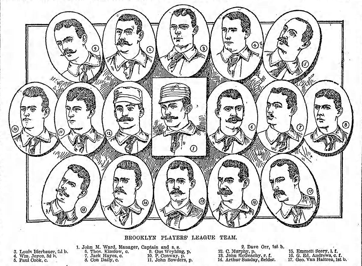 1890 Brooklyn Players League