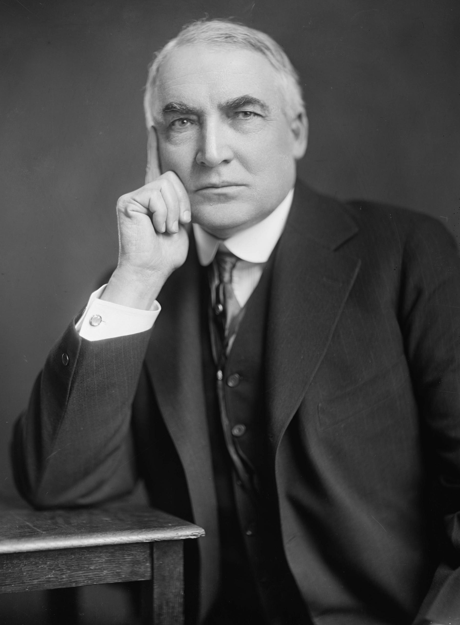 Warren G. Harding (COURTESY OF NARA)