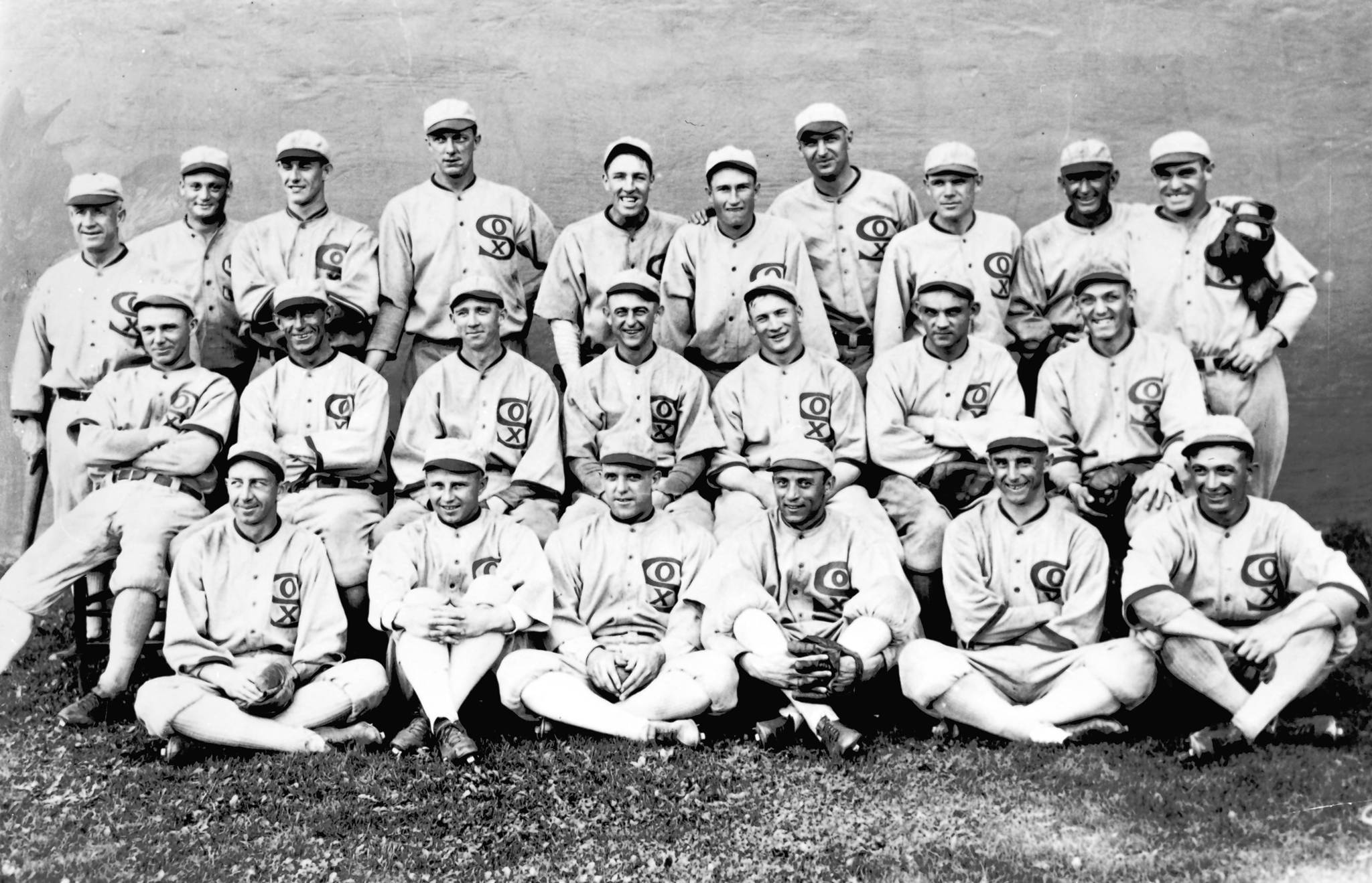 1919 Black Sox depicted (NATIONAL BASEBALL HALL OF FAME LIBRARY)