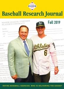 Baseball Research Journal, Fall 2019