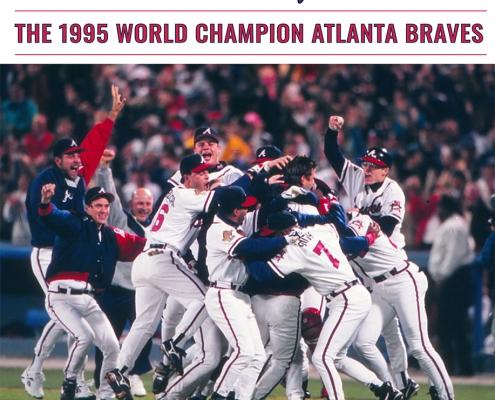 1995 Atlanta Braves book cover