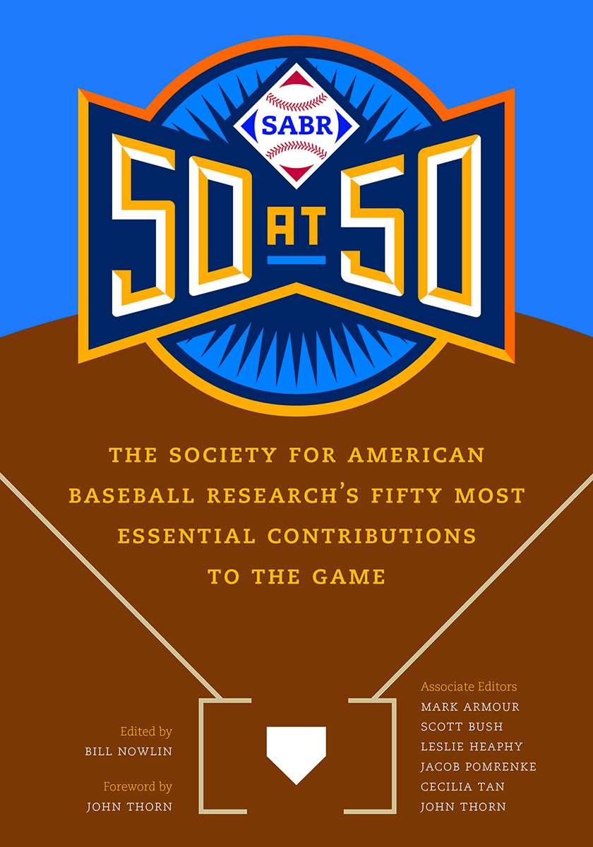 SABR 50 at 50 book cover