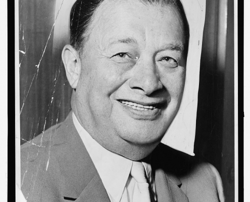 Toots Shor (New York World-Telegram and the Sun Newspaper Photograph Collection, Library of Congress)