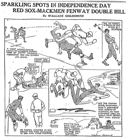 Boston Globe, September 5, 1917