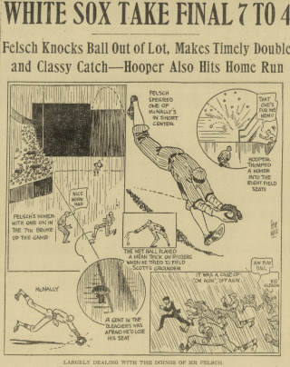Boston Globe cartoon, July 25, 1920