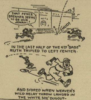 Boston Globe cartoon, July 4, 1918 (NEWSPAPERS.COM)