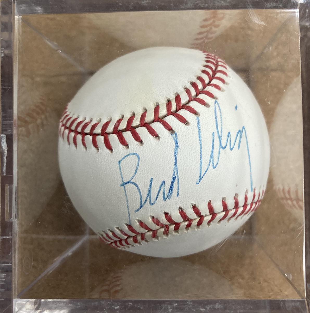 Bud Selig Autographed Baseball