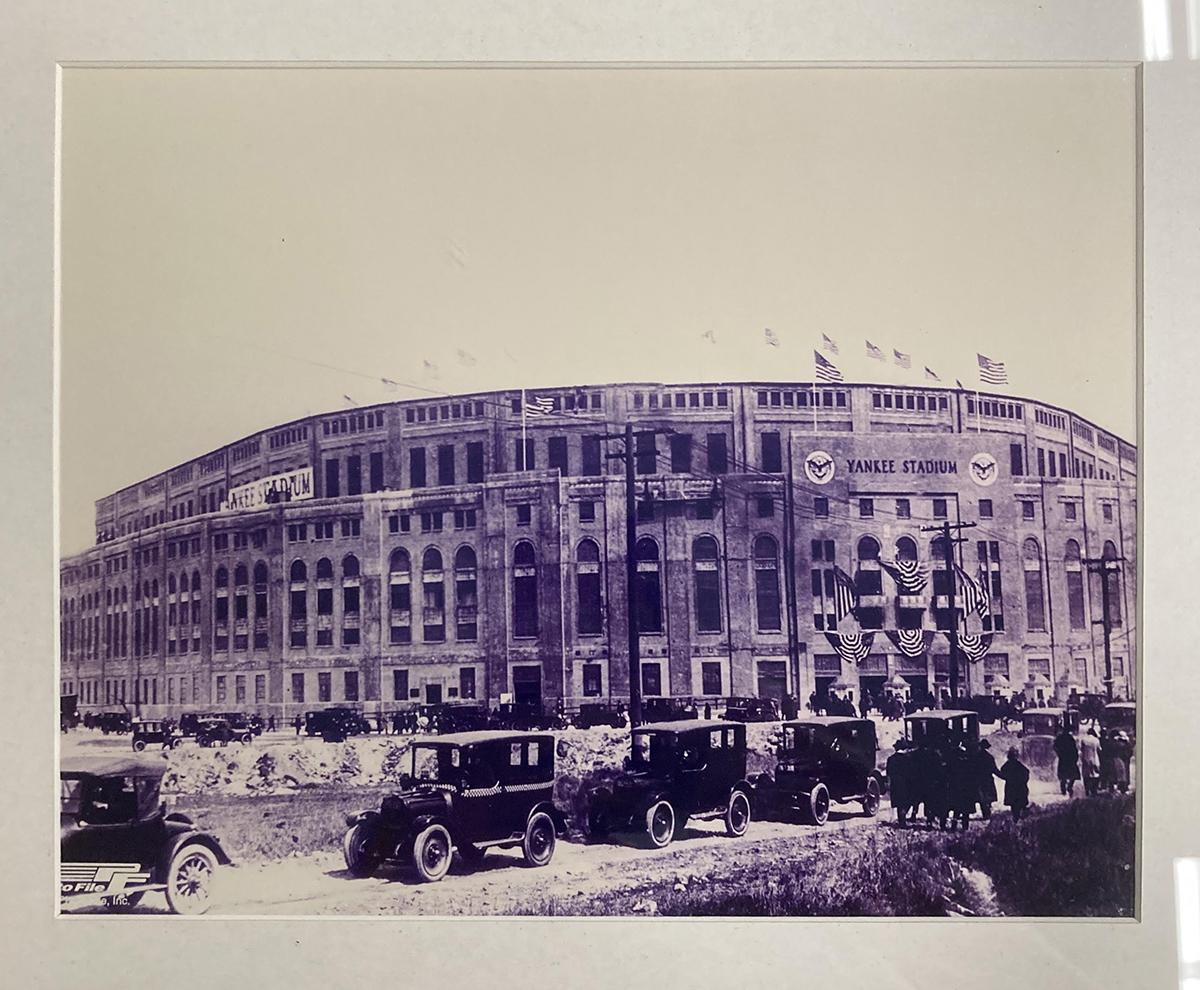 Old Yankee Stadium Framed Print