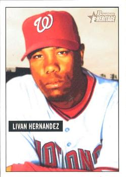 Livan Hernandez (THE TOPPS COMPANY)