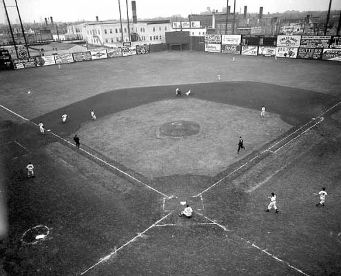 Nicollet Park, circa 1954 (STEW THORNLEY)