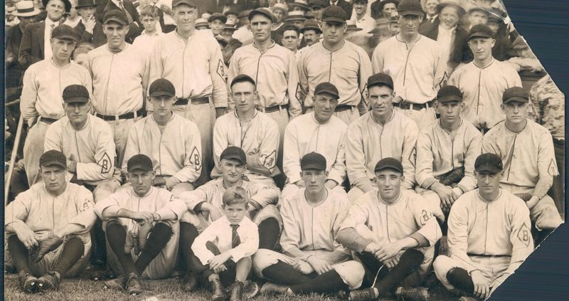 1920 Baltimore Orioles, who won the International League pennant for the second straight season. (BALTIMORE SUN)
