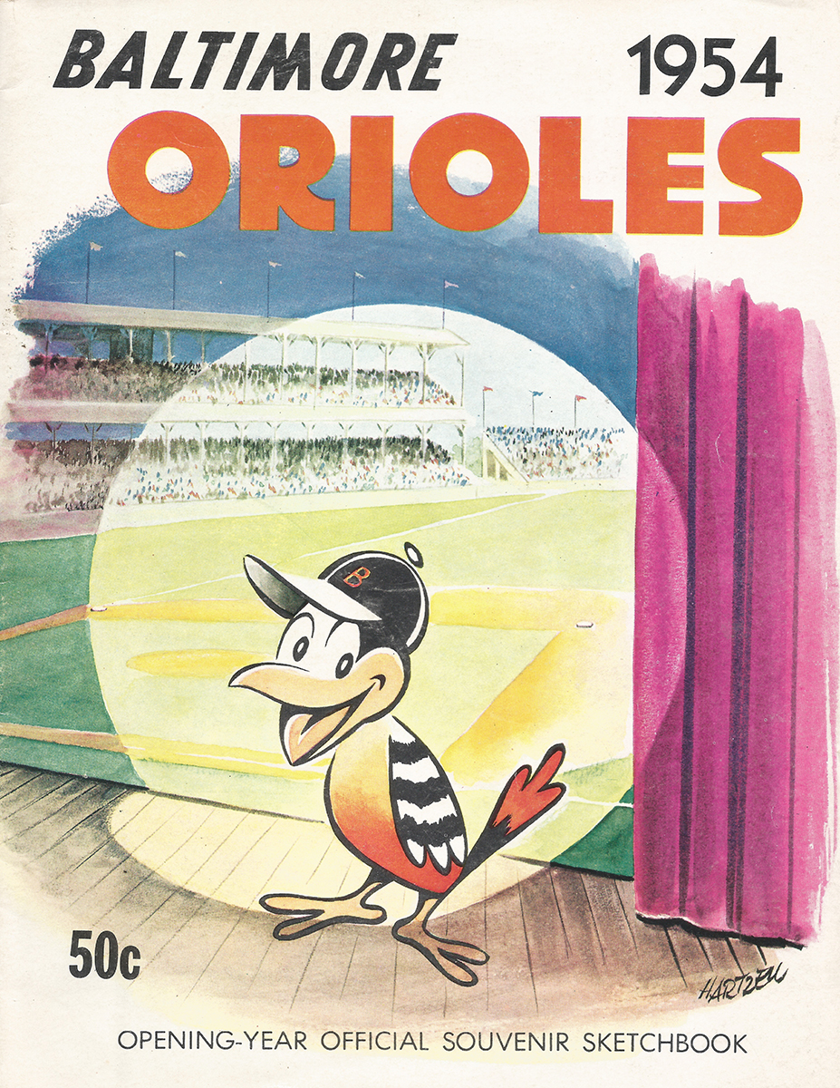 1954 Baltimore Orioles Yearbook (BALTIMORE ORIOLES)