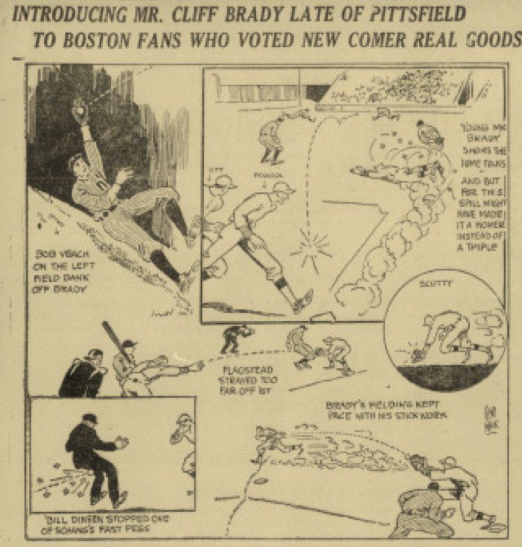 Boston Daily Globe, August 17, 1920.