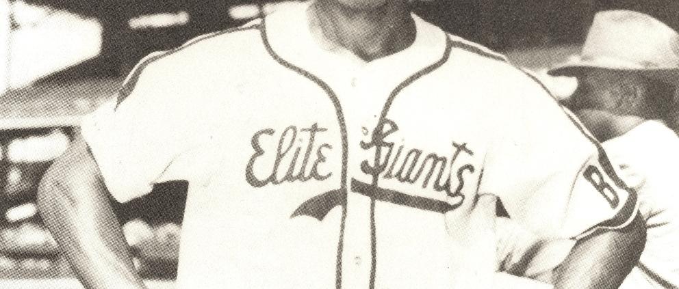 Junior Gilliam with the Baltimore Elite Giants (NOIRTECH / LARRY LESTER)