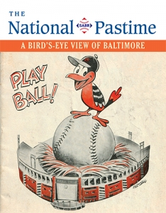 2020 The National Pastime: A Bird's Eye View of Baltimore