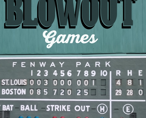 Baseball's Biggest Blowout Games, edited by Bill Nowlin