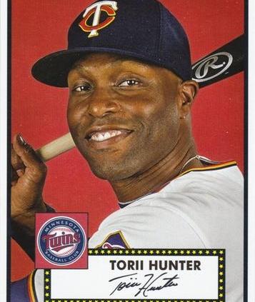 Torii Hunter (THE TOPPS COMPANY)