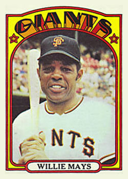 Willie Mays (THE TOPPS COMPANY)