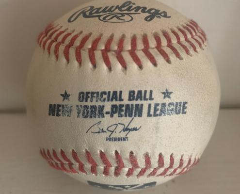 New York-Penn League baseball (COURTESY OF KURT BLUMENAU)