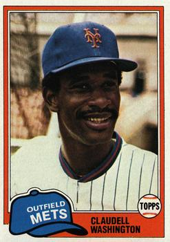 Claudell Washington (THE TOPPS COMPANY)