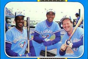 1987 Toronto Blue Jays (TRADING CARD DB)