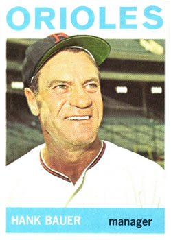 Hank Bauer (THE TOPPS COMPANY)