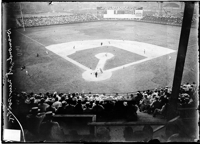 Comiskey Park, 1910 (SDN-008839, Chicago Daily News negatives collection, Chicago History Museum)
