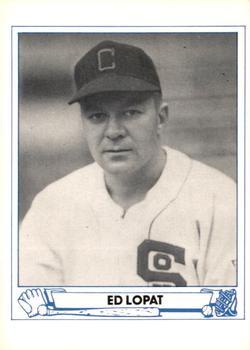 Eddie Lopat (TRADING CARD DB)