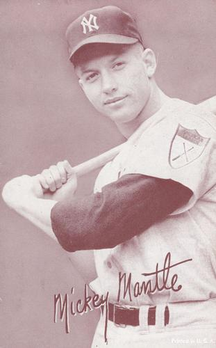 Mickey Mantle (TRADING CARD DB)